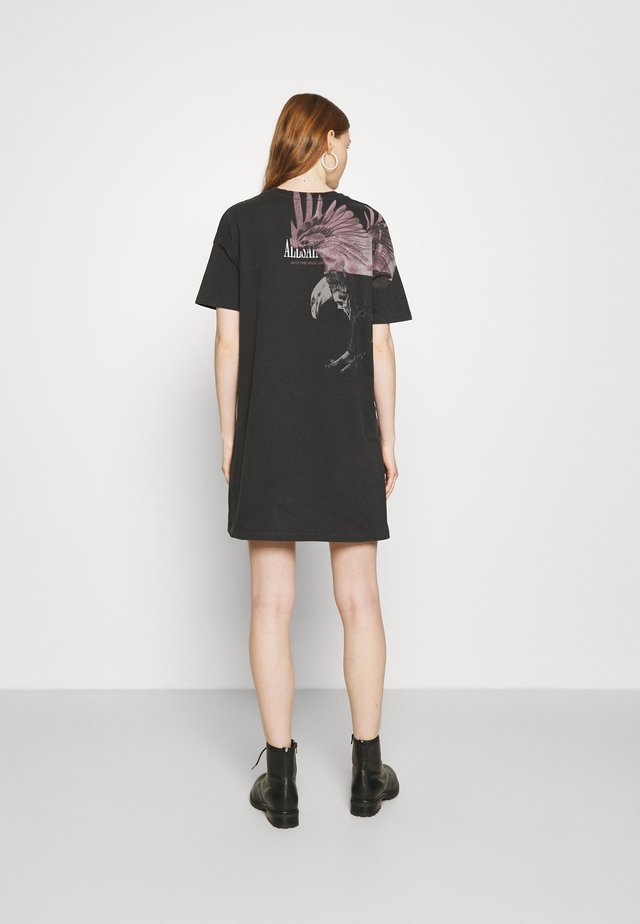 AQUILA TEE DRESS - Jerseyjurk - vintage black