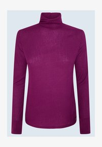 Pepe Jeans - DEBORAH - Long sleeved top - dark plum - 4