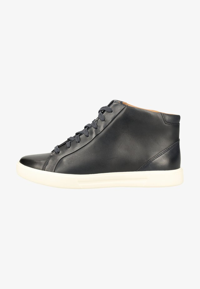 Baskets montantes - navy