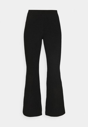 FANNA TROUSERS - Trousers - black