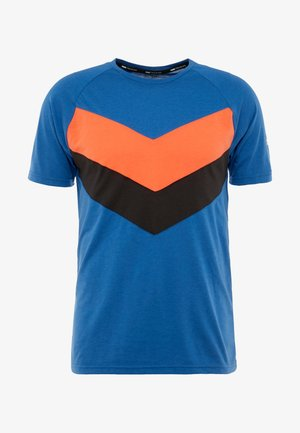 REACTIVE COLOR BLOCK TEE - T-Shirt print - galaxy blue