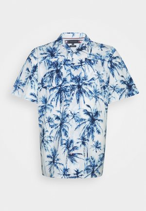 PALM SHIRT - Shirt - white/pigment blue