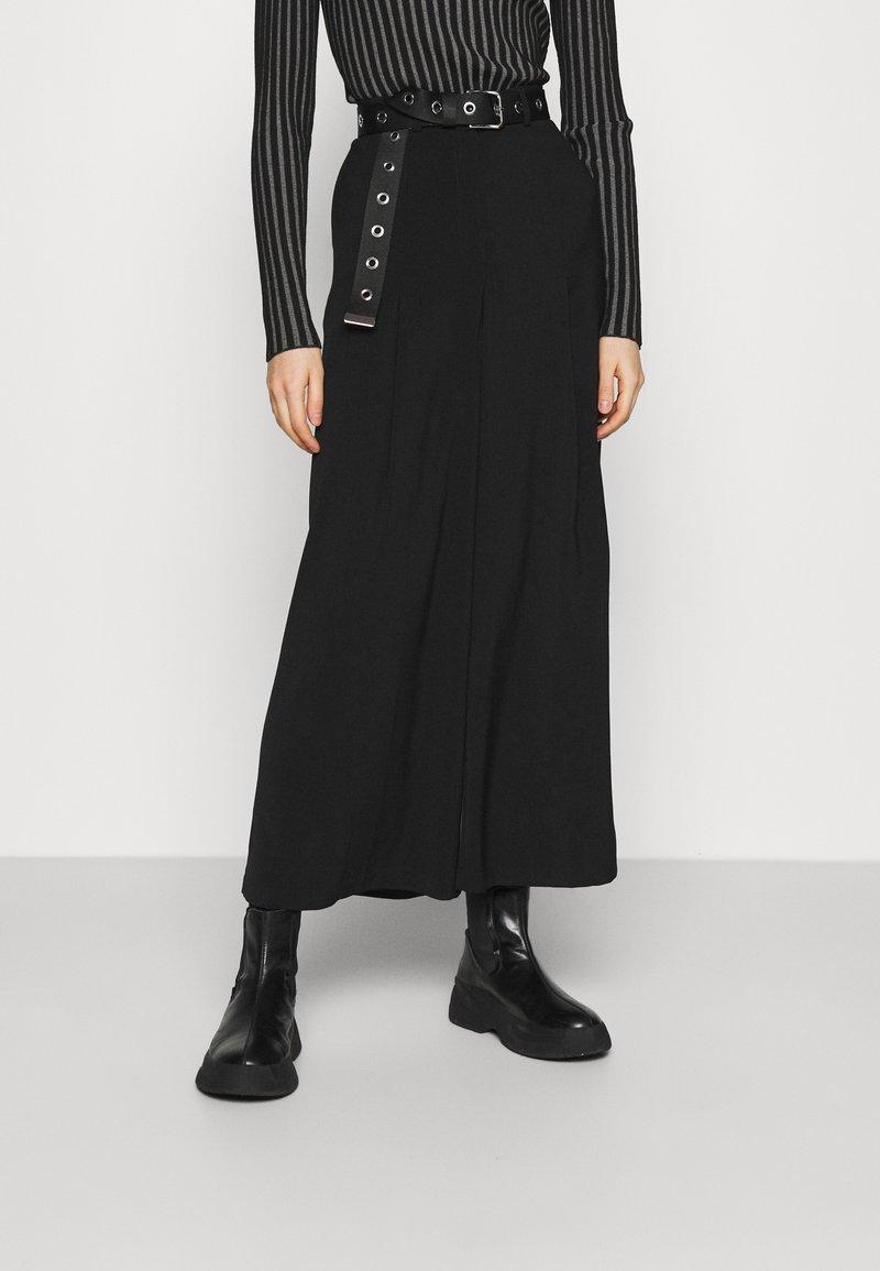 Vila - VIJANINE  - Kalhoty - black