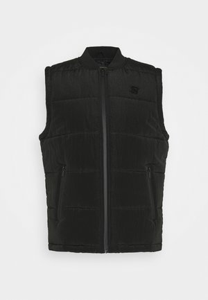 SIKSILK PADDED GILET - Vesta - black