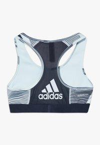 adidas Performance - BRA - Sports bra - sky tint/leg ink - 1