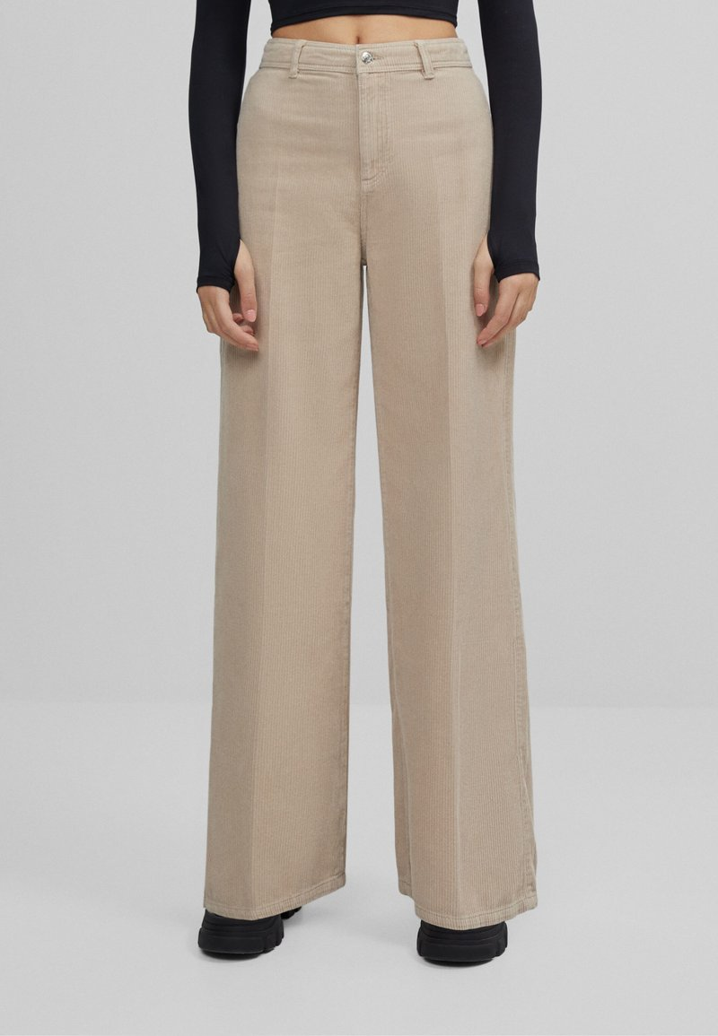Bershka - Pantalon classique - beige