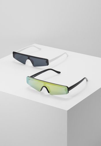 SUNGLASSES 2 PACK - Sunglasses - black/multicolour/white