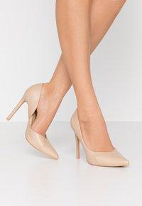 RAID - PEITRA - Zapatos altos - nude - 0