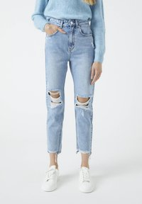 PULL&BEAR - Relaxed fit jeans - dark blue - 0