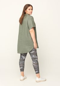 Zizzi - Leggings - Trousers - green - 1