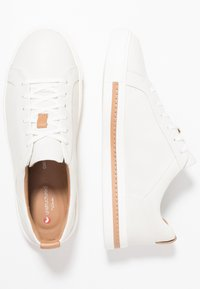 Clarks Unstructured - UN MAUI LACE - Joggesko - white