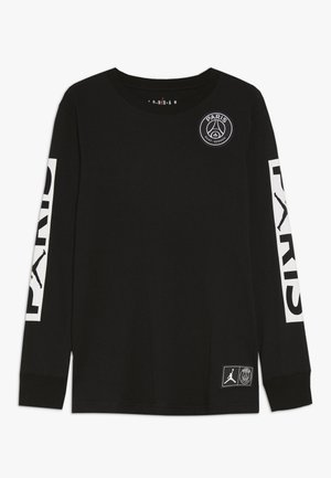 PARIS ST GERMAIN LONGSLEEVE - Pelipaita - black