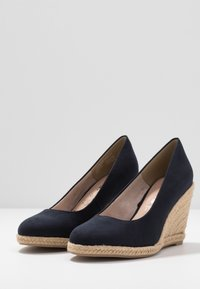 Tamaris - COURT SHOE - Høye hæler - navy - 4