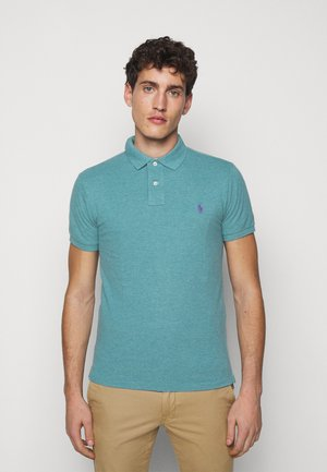 Polo shirt - teal heather
