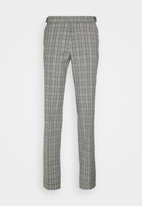 HUGO - Oblekové kalhoty - silver - 4