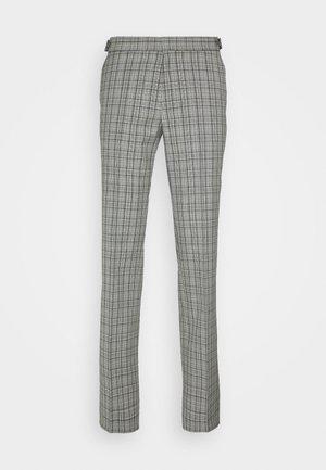 Spodnie garniturowe - silver