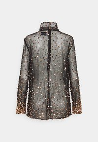 MANÉ - THEA - Blouse - washed black/rose gold - 1
