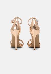 Steve Madden - BRYDGET - Platform sandals - rose gold - 3