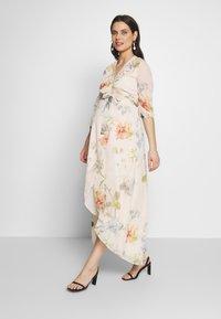 Hope & Ivy Maternity - SLEEVE WRAP DRESS - Maxi šaty - blush - 0