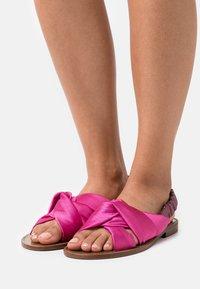 Pinko - GLICINE RASO - Sandals - fuchsia - 0
