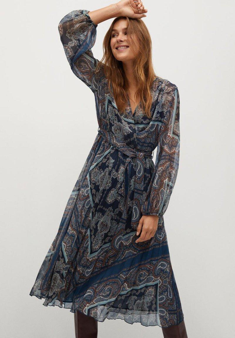 Mango - DESIRE - Day dress - dunkles marineblau