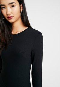 Zign - BASIC - Gebreide jurk - black - 5