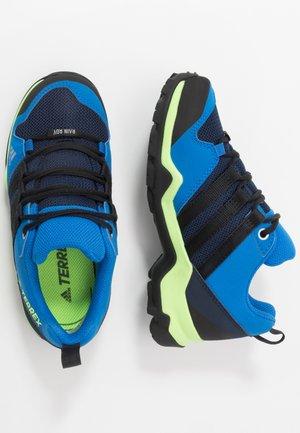 TERREX AX2R RAIN.RDY - Hiking shoes - tech indigo/core black/glow blue