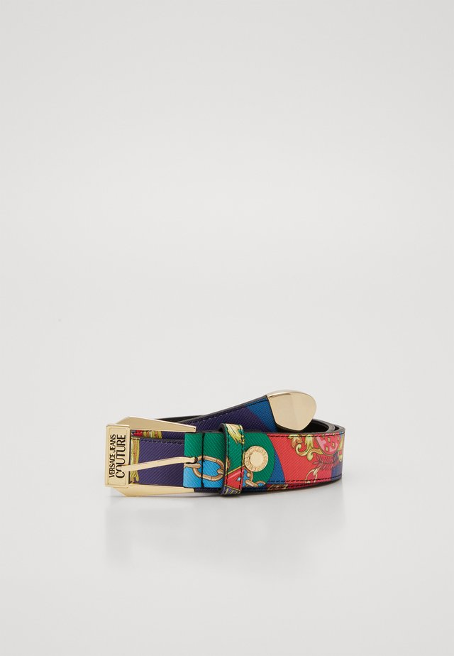PIN BUCKLE WIDE BELT - Belt - multi-coloured