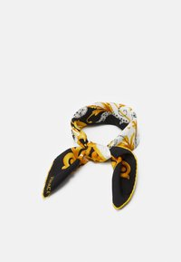 Versace - BANDANA - Chusta - bianco/nero/oro - 0