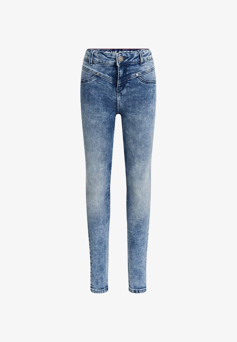 WE Fashion - SUPERSKINNY - Jeggings - blue