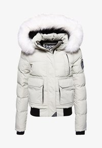 Superdry - EVEREST ELLA - Winter jacket - light grey - 5