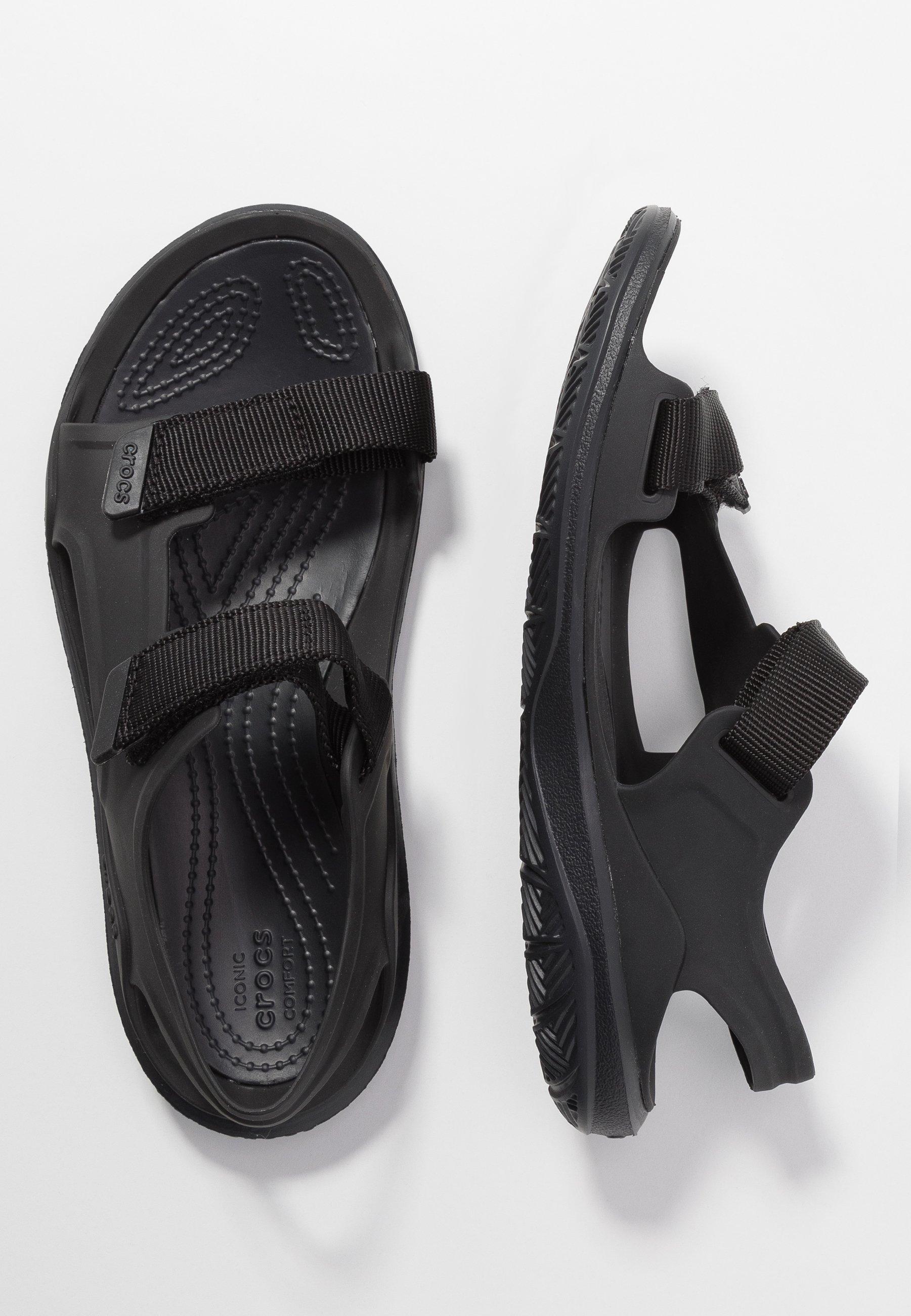 Crocs SWIFTWATER EXPEDITION MOLDED - Sandaler - black