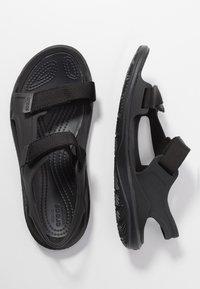 Crocs - SWIFTWATER EXPEDITION MOLDED - Sandalias - black - 3