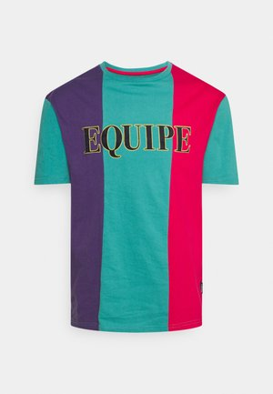 UNISEX - Print T-shirt - purple/blue/red