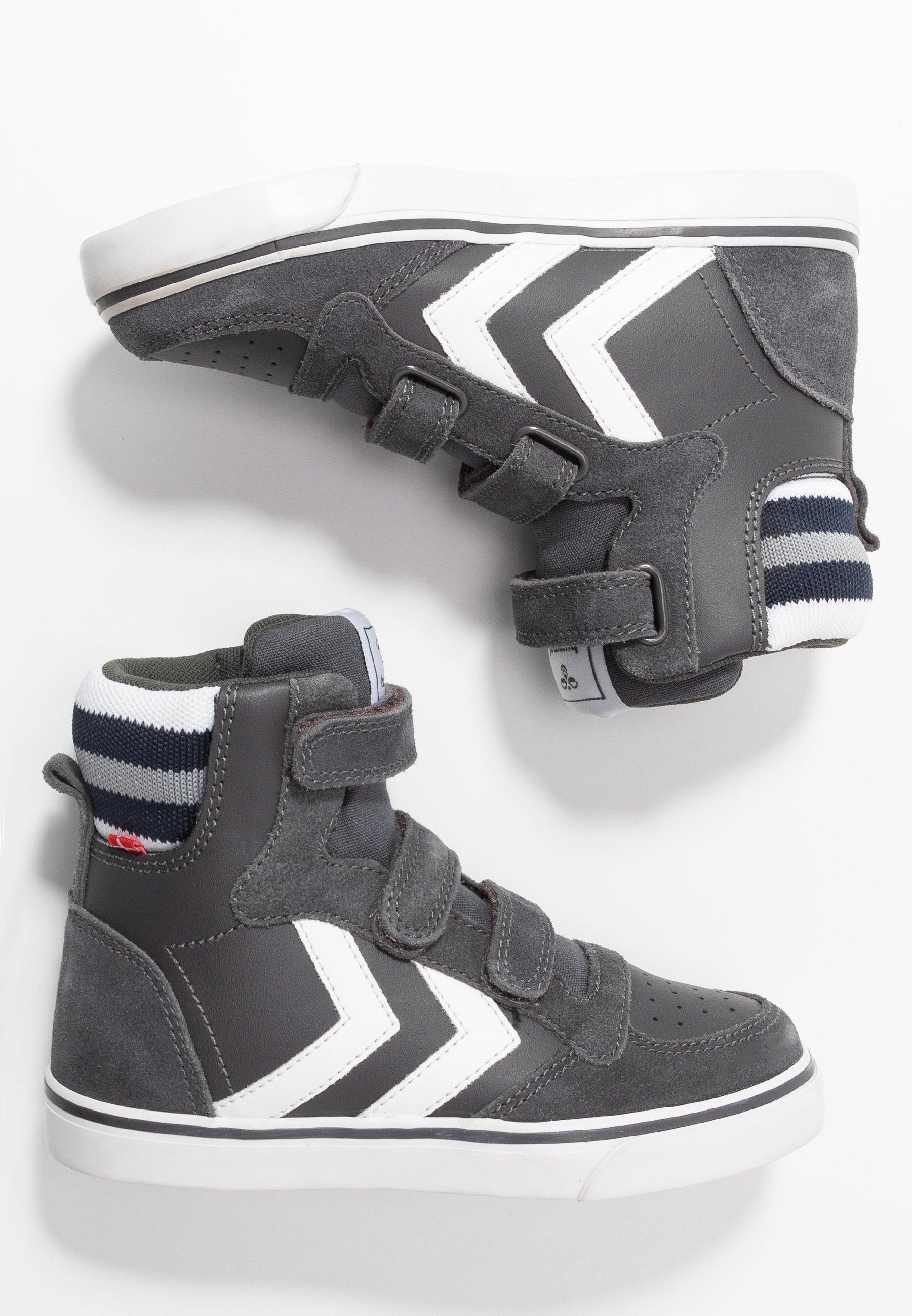 Höga sneakers asphalt