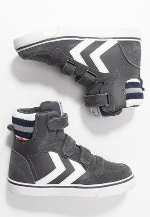 High-top trainers - asphalt