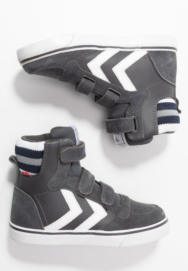 Sneakers hoog - asphalt