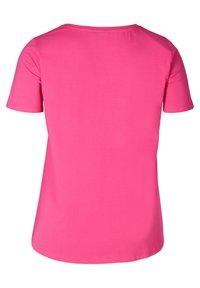 Zizzi - Basic T-shirt - pink - 5