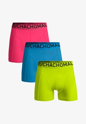 3 PACK - Onderbroeken - yellow/sky blue/pink