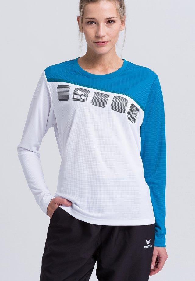Sports shirt - White/blue