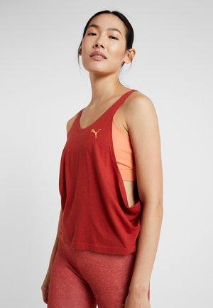 LAYERED VEST - Camiseta de deporte - bossa nova