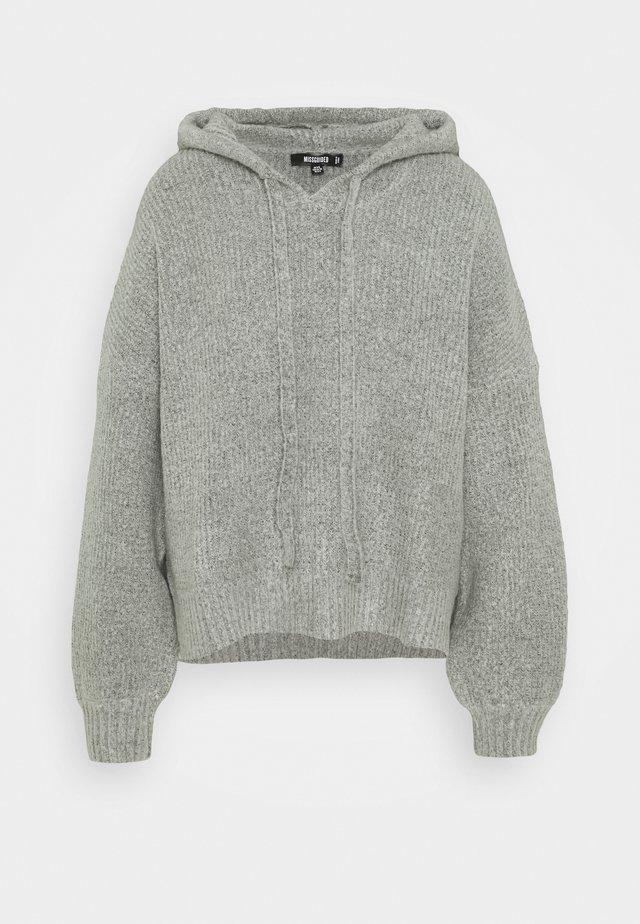 PREMIUM BOYFRIEND HOODIE - Pullover - grey