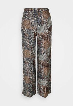 SASHA FLEX - Trousers - black