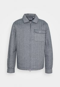 KnowledgeCotton Apparel - PINE QUILTED - Light jacket - total eclipse - 3