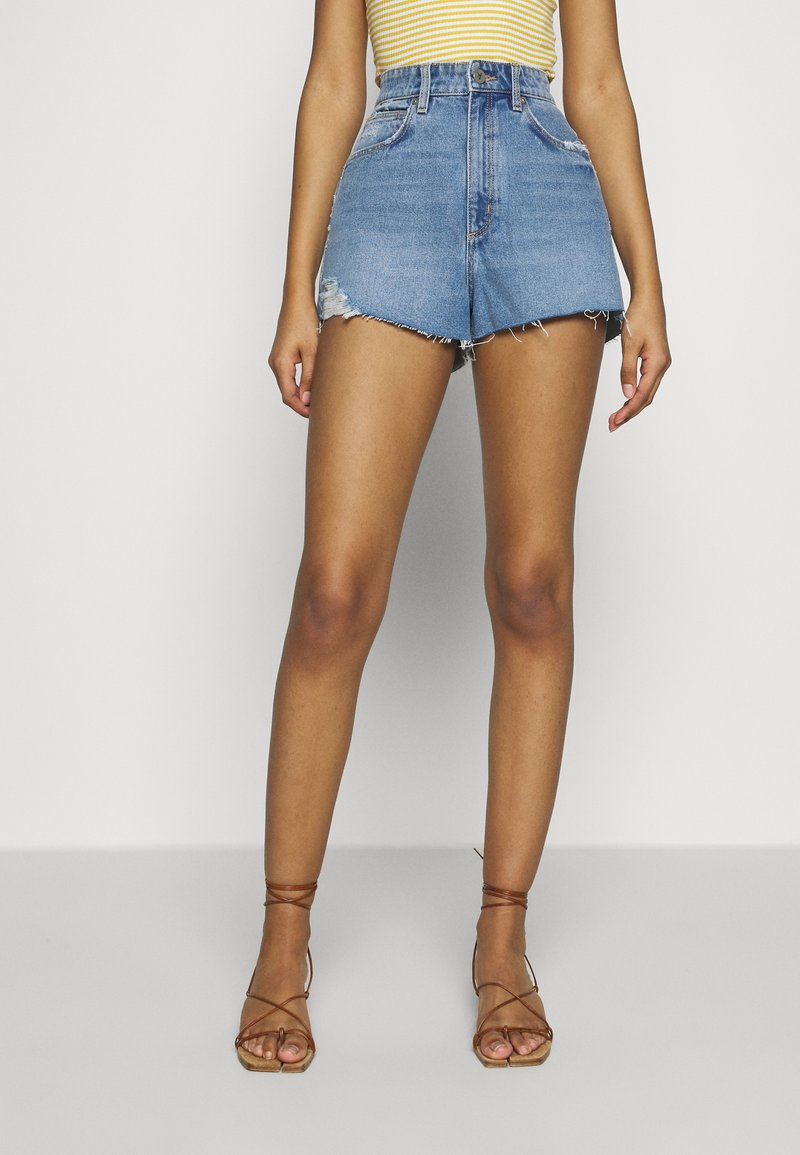 Abrand Jeans - HIGH RELAXED - Jeansshorts - miss jane