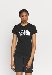 The North Face - EASY TEE - Print T-shirt - black - 0