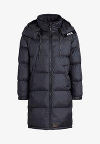 khujo - PERUN - Winter coat - schwarz print - 8