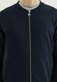 WESTMARK LONDON - CORE - Zip-up sweatshirt - total eclipse - 3