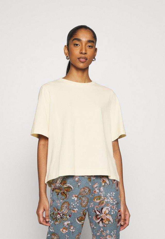 TRISH - T-shirt basic - light beige