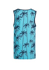 WE Fashion - MET PALMBOMENDESSIN - Top - turquoise - 1